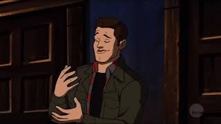 Supernatural 13x16 Scooby Doo Theme Song Scene