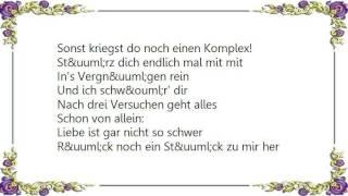 Chris Roberts - Liebe Ist Gar Nicht So Schwer Lyrics