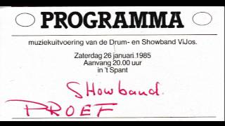 ViJoS Showband Spant 1985 audio opname