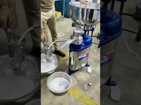 Intec - Ss Cream Separator 550 Lph / Descremadora