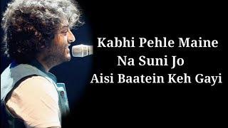 Ishq Mubarak Lyrics | Tum Bin 2 | Arijit Singh   - YouTube