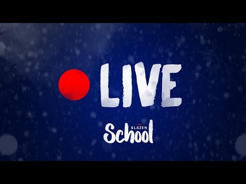 Livestream 'Glazen School'