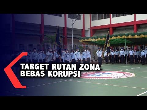 Target Rutan Zona Bebas Korupsi