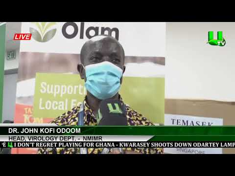 Olam Ghana Donates To Noguchi Medical Research Center