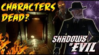 SHADOWS OF EVIL Characters Dead? Richtofen's Summoning Key! Black Ops 3 Zombies Easteregg Ending