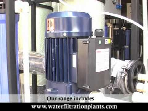 Automatic FRP Industrial Reverse Osmosis Sea Water Purification System RO Machine