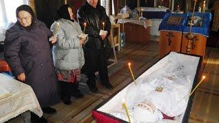 Похороны Немовой М А