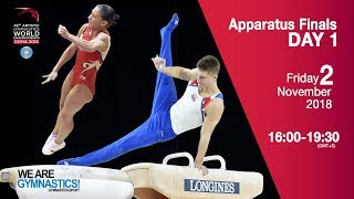 Individual Apparatus Finals - Day 1 - 2018 Doha Artistic Gym Worlds