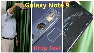 [Hindi] Galaxy Note 9 Durability (Drop) Test | Most Fragile Note ?