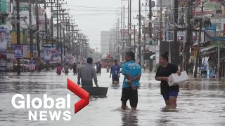 Thailand's monsoon season causes deadly floods in southern provinces