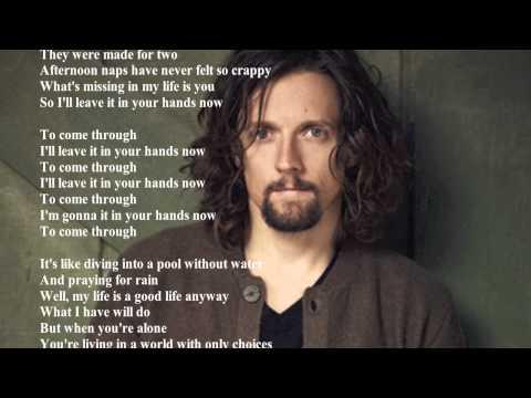 Jason Mraz - In Your Hands (Lyrics)