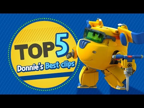 Donnie's Best Clips | Top 5 | Superwings Hot Clips Highlight