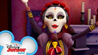 Day Of The Dead Music Video 💀| Vampirina|  Disney Junior