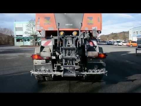 Fullwet-Salzstreuer für die Glatteisbekämpfung auf den Berner Nationalstrassen