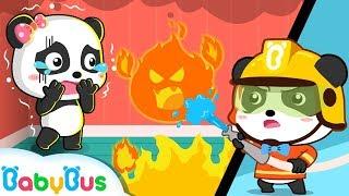 Super Firefighter's Christmas Mission | Super Panda | Santa Claus | Christmas Songs | BabyBus