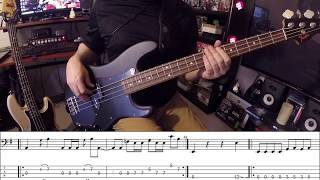 Seek And Destroy Bass Cover With Tab   Metallica Cliff Burton