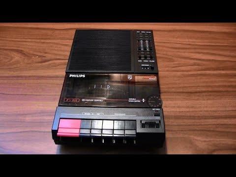 Presentazione, manutenzione e test registratore a cassette Philips D 6350