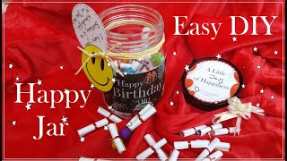 Easy DIY Valentine's day Happy Jar || A little Jar of Happiness || The Craft Gallery India