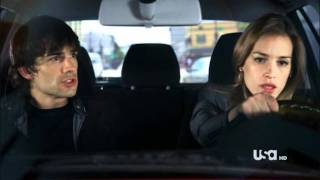 "Covert Affairs - Annie and Auggie Scene 2.01 ""Slow down"""