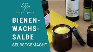 Körperpflegeöle: Bienenwachssalbe selbstgemacht - feinste Naturkosmetik (Teil 2/2)