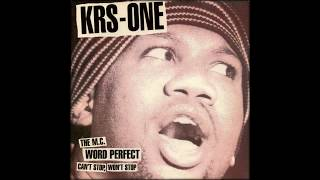 Krs One - Can't Stop, Won't Stop [Instumental]