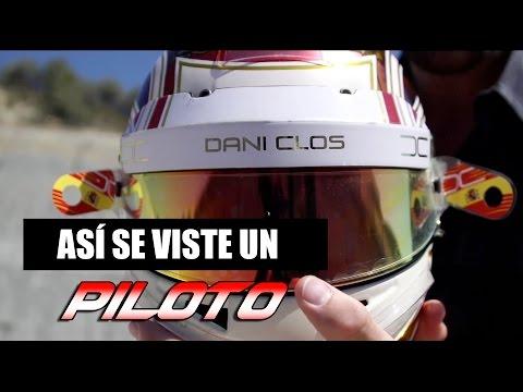 ASÍ SE VISTE UN PILOTO DE CARRERAS | Dani Clos