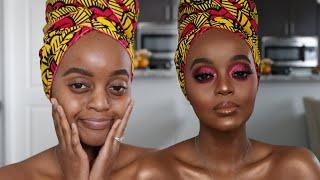 Pink Eye Tutorial | Makeup For Black Women 2020