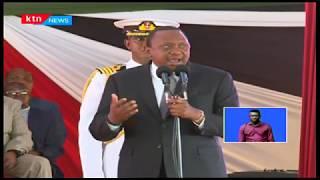 President Uhuru Kenyatta pays tribute to Former President Daniel Moi