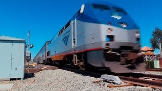 Amtrak Trains   Pacific Surfliners & Southwest Chief  (September 8th, 2013)