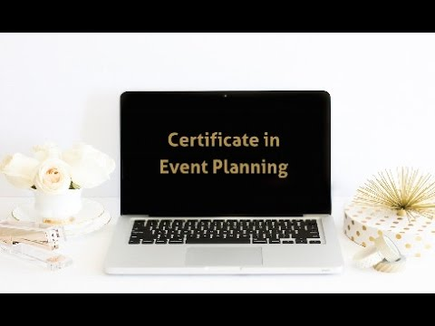 Certificate in Event Planning - YouTube
