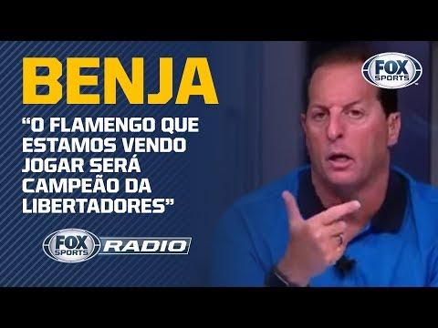 Benja: 'O Flamengo que estamos vendo jogar será campeão da Libertadores'