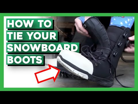 How To: Properly Put Snowboard Boots On (F)art Edition