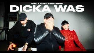 Musik-Video-Miniaturansicht zu Dicka Was Songtext von Kool Savas, Sido & Nessi