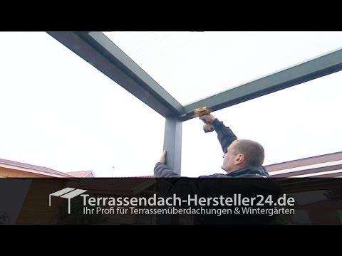 Terrassenüberdachung Montagevideo - Aufbauanleitung