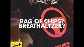 This Tostitos Breathalyzer is All That and a Bag of Chips | Donut Media