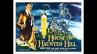 """""""Dom Na Przeklętym Wzgórzu""""-Ekscentryczny milioner na prośbę swojej czwartej żony organizuje oryginalną zabawę. Wynajmuje dom, w którym straszy, i zaprasza tam pięć osób. Ten, kto przetrwa noc, dostanie wysoką nagrodę pieniężną…"""