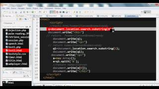To get query string of URL in PHP and JavaScript