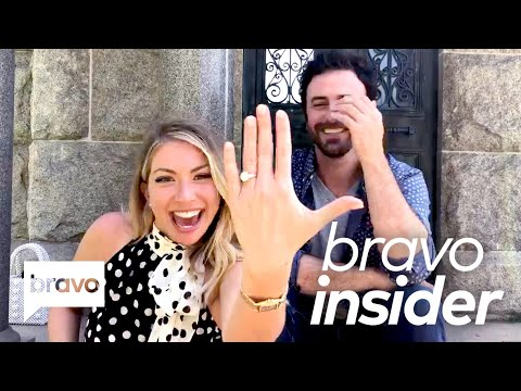Stassi Schroeder and Beau Clark Show You The Moment They Got Engaged