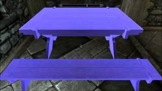 Skyrim Mod - Furniture Move