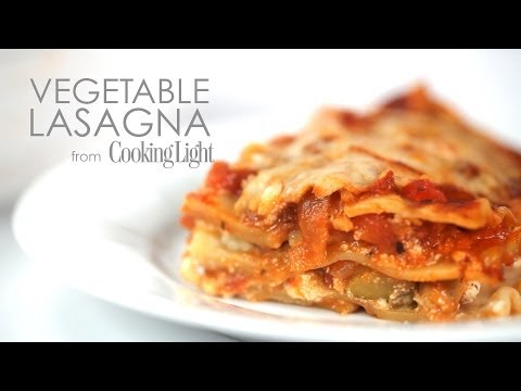 How to Make Simple Vegetable Lasagna | MyRecipes