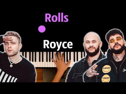 Джиган, Тимати, Егор Крид - Rolls Royce ● караоке   PIANO_KARAOKE ● ᴴᴰ + НОТЫ & MIDI