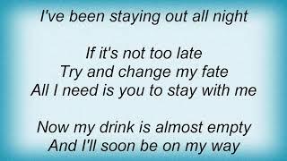 Anvil - Never Deceive Me Lyrics