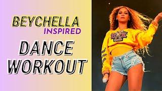 Beyonce Dance Workout [COACHELLA Inspired] | Dance Like QUEEN B!  🐝