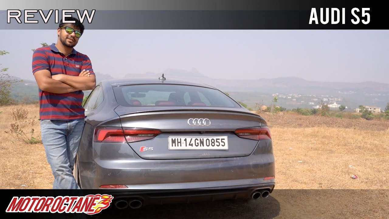 Motoroctane Youtube Video - Audi S5 Real life Review | Hindi | MotorOctane