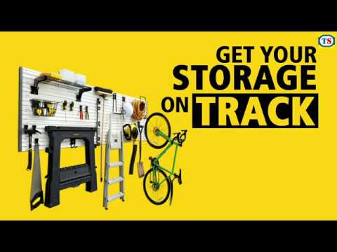 Stanley Track Wall System 20 Pc Starter Kit