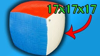 The Ultimate Christmas Present - 17x17x17 Rubik