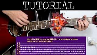 Cómo tocar Stirb Nicht Vor Mir de Rammstein (Tutorial de Guitarra)