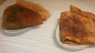 Обалденные Домашние Блины (Блинчики) - Вкусно и Быстро с начинкой