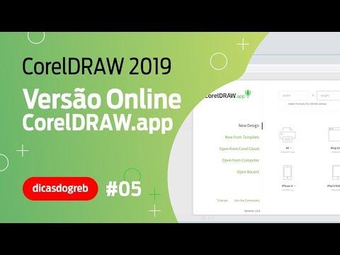 CorelDRAW 2019 - O Novo CorelDRAW.App Online
