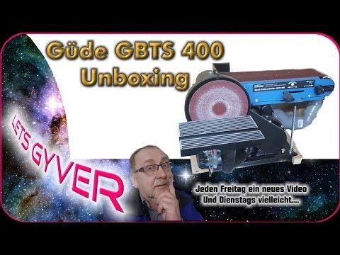 Unboxing Güde GBTS 400 Band- und Tellerschleifer